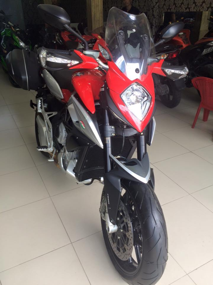 MotorKen can ban 2 e stradale 800cc xe thung chua no may chua do xang - 4