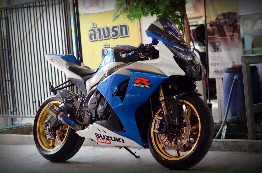 Suzuki GSXR1000 do day dang cap cua dan choi Thai - 2