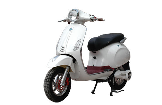 Xe May Dien VESPA PRIMA pha gia thi truong - 2