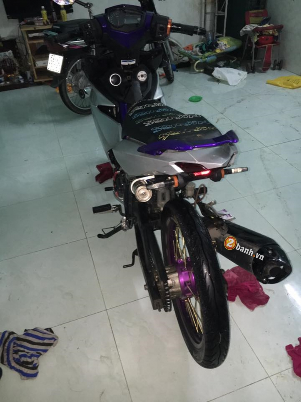 Exciter 150 don nhe cung banh cam - 2
