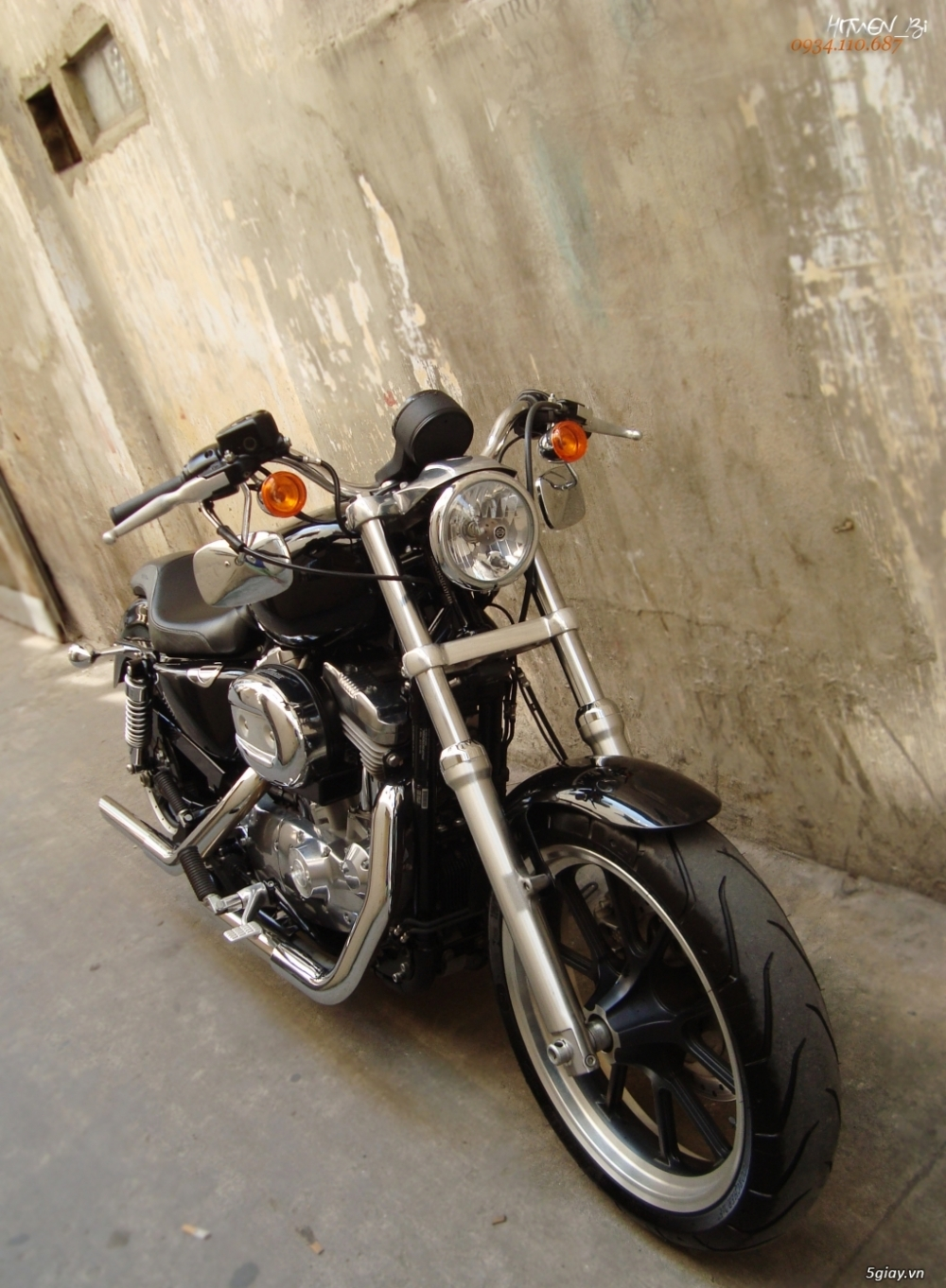 ___ Can Ban ___HARLEY DAVIDSON 883 Superlow 2014 ABS___ - 4