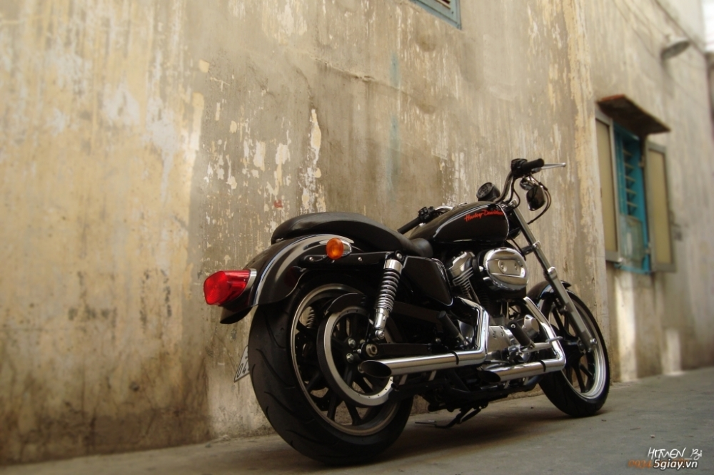 ___ Can Ban ___HARLEY DAVIDSON 883 Superlow 2014 ABS___ - 6