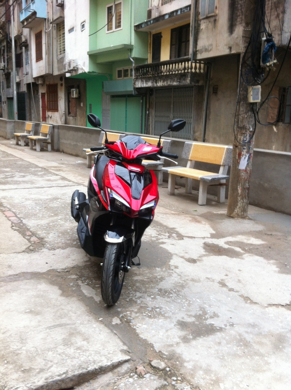 Air blade 216 bien ha noi