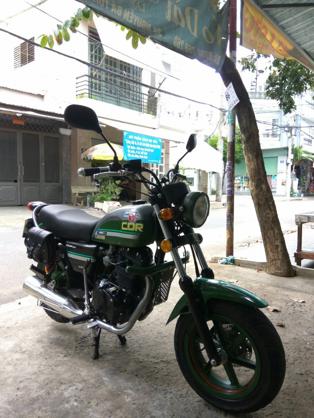 can ban xe Moto Rebel mini 125cc CDR camo