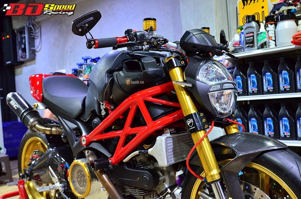 Ducati Monster 795 day an tuong voi ban do con dang do - 2