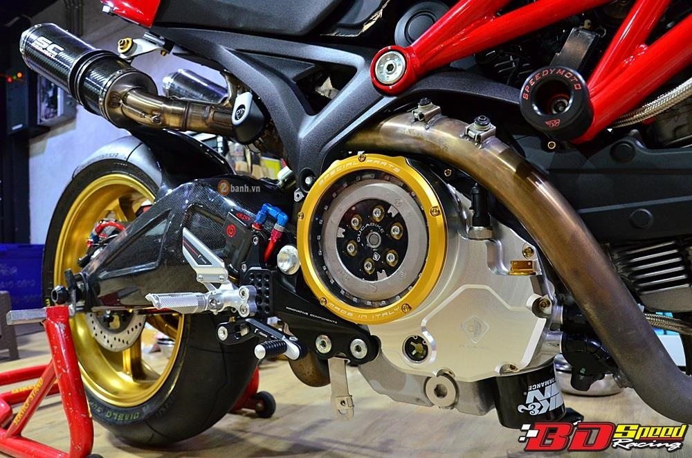 Ducati Monster 795 day an tuong voi ban do con dang do - 4