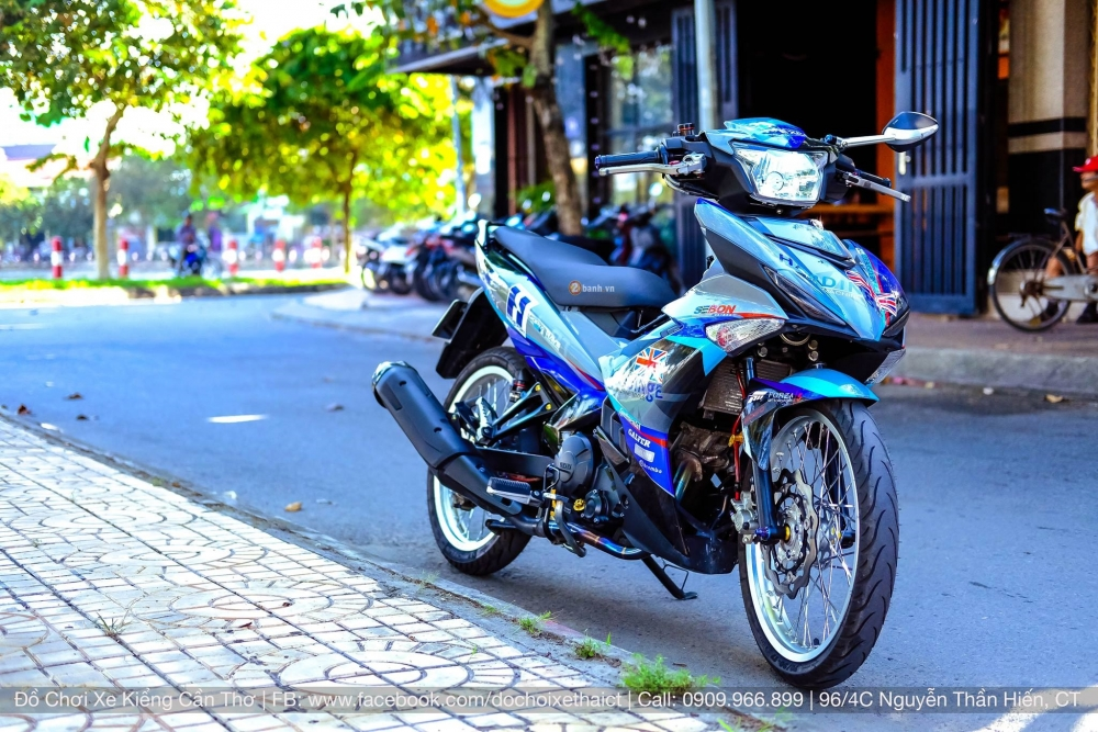 Exciter 150 day an tuong trong bo canh tem dau phong cach - 5
