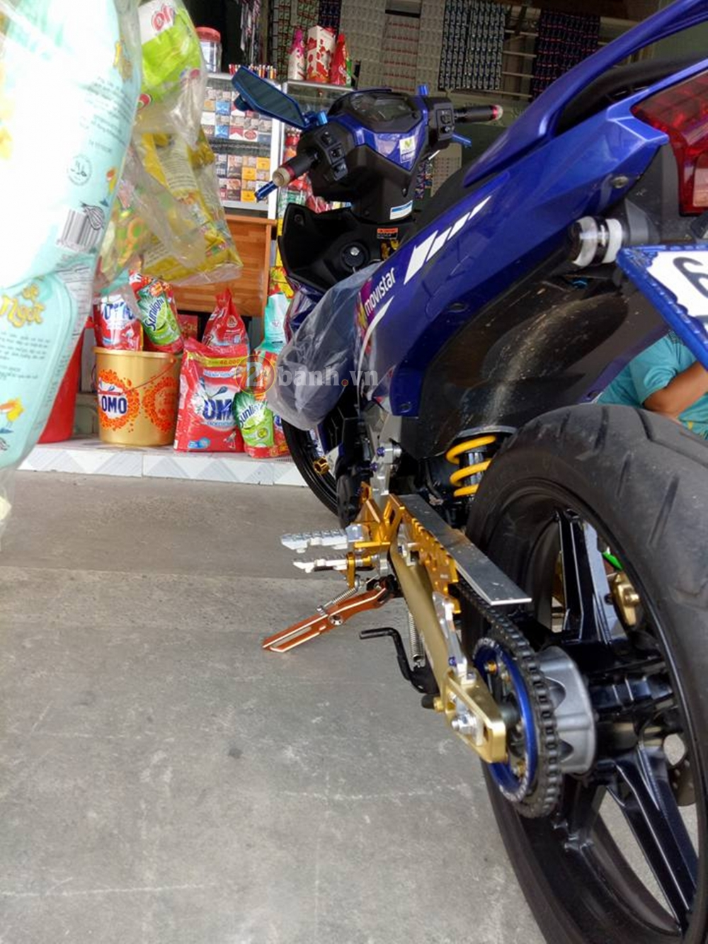 Exciter 150 mac ao Movistar vac sung Akrapovic - 4