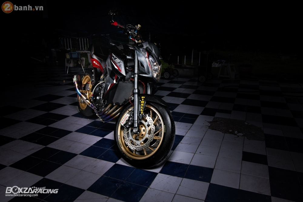Honda CB650F day loi cuon trong ban do full option cuc chat tu Thai Lan - 2