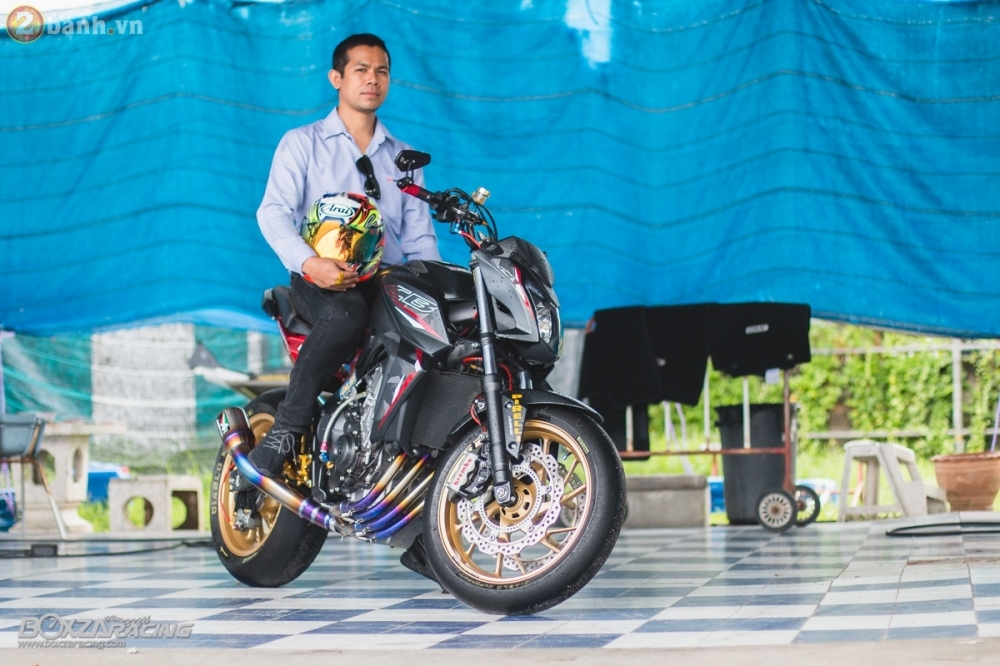 Honda CB650F day loi cuon trong ban do full option cuc chat tu Thai Lan - 18