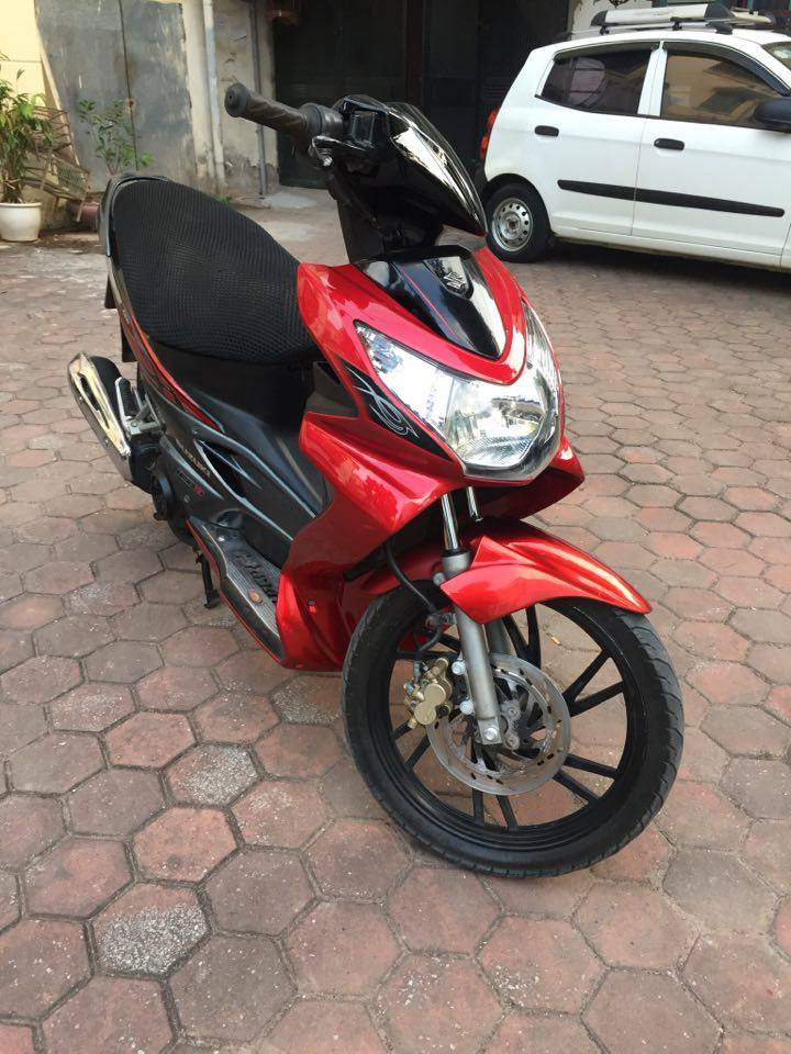 Suzuki Hayate 125 do den cuc chat bien HN doi 2009 ban 12tr - 4