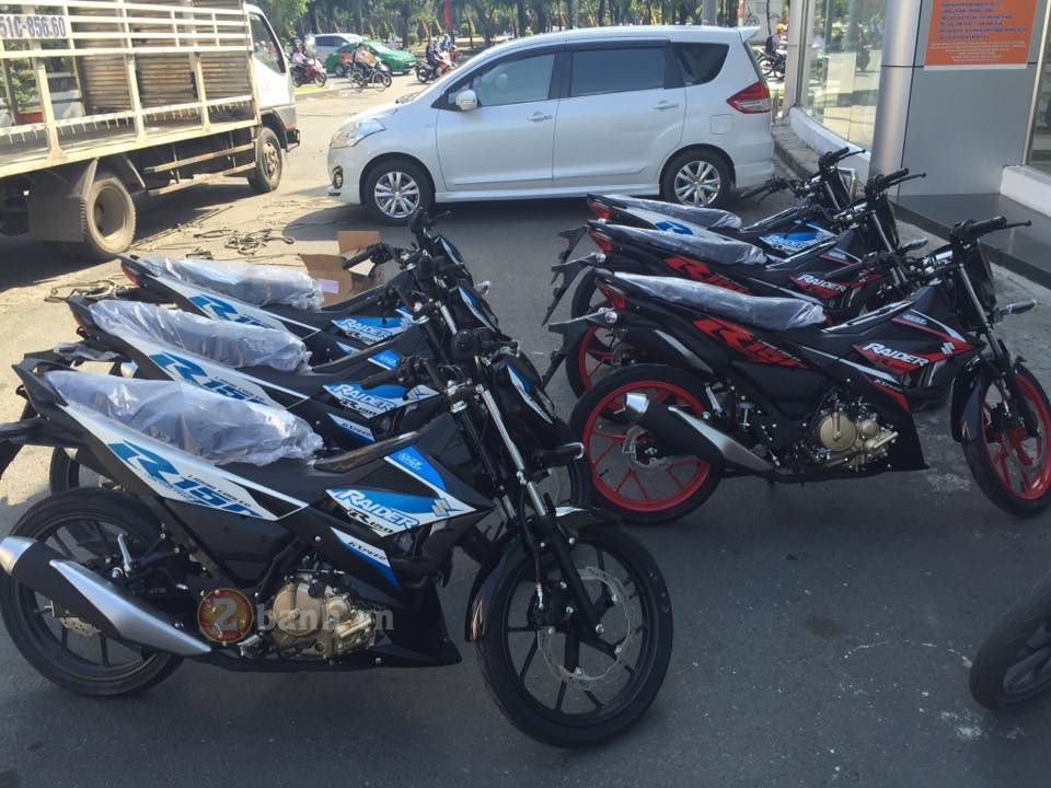 Suzuki Raider 150 Fi da co mat tai Dai Ly - 12