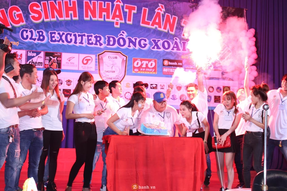Hang tram chien ma Exciter du chung loai mung sinh nhat lan II CLB Exciter Dong Xoai - 6
