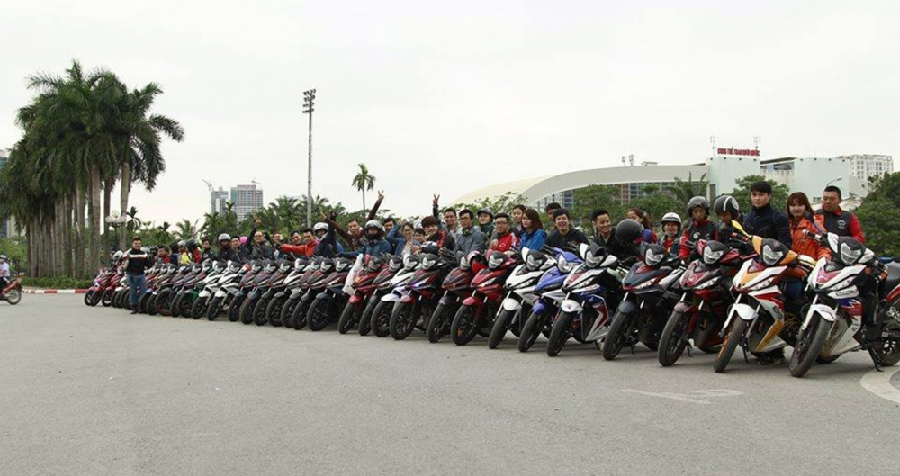 Honda WINNER 150cc Ha Noi OFFICIAL Club WINNER lon nhat mien Bac - 3