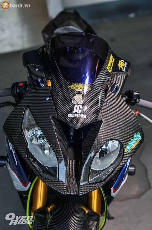 BMW S1000RR sieu chat trong ban do full carbon dat tien - 5