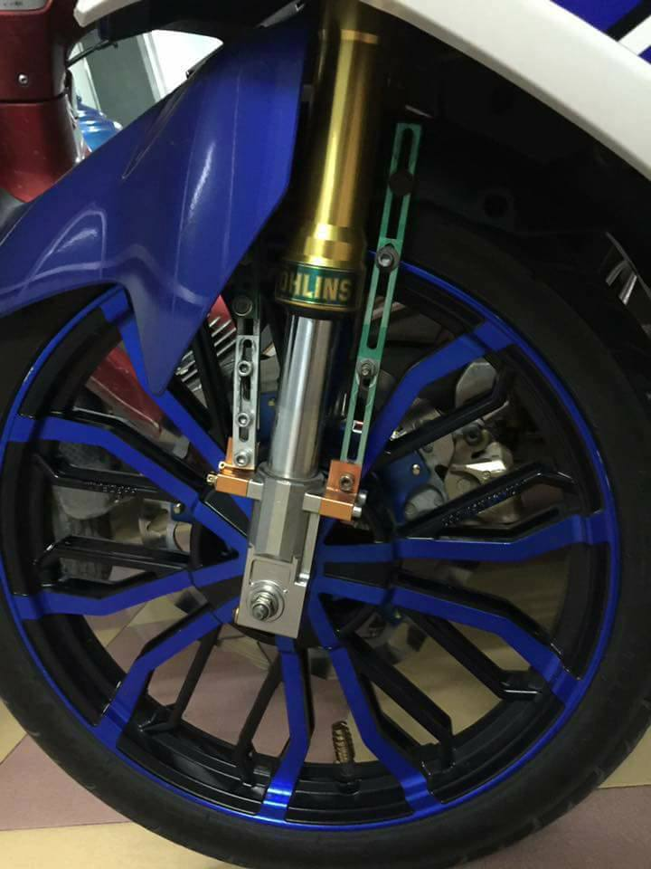 Phuoc truoc UPSIDE DOW OHLINS danh cho EXCITER 135 150 WINNER 150 - 6