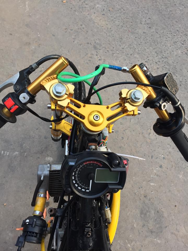 Exciter 135 drag style chay nhu bay - 2