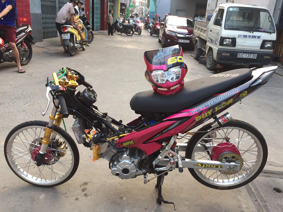 Exciter 135 drag style chay nhu bay - 4