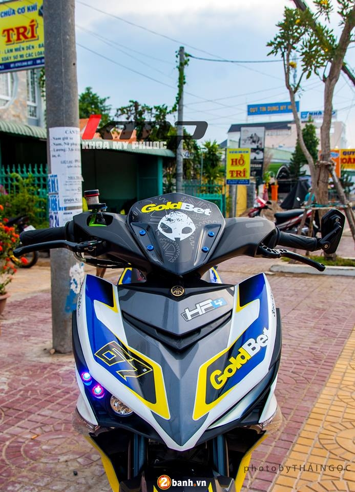 Can canh Exciter 150 ban do chat choi cua Biker An Giang - 2