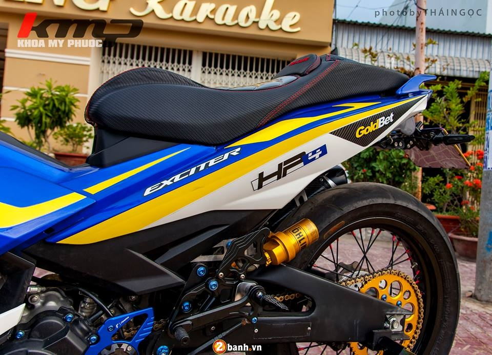 Can canh Exciter 150 ban do chat choi cua Biker An Giang - 5
