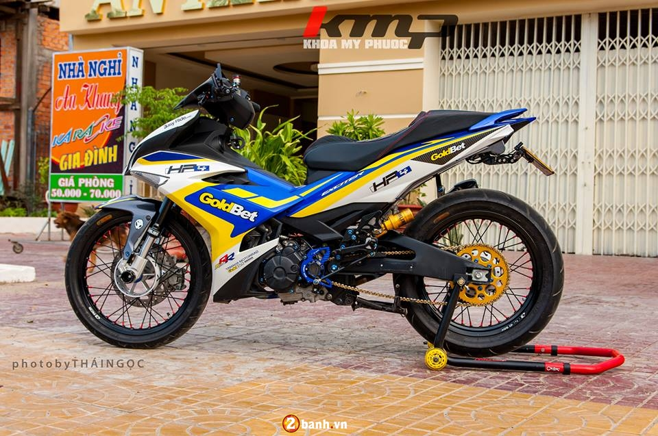 Can canh Exciter 150 ban do chat choi cua Biker An Giang - 9