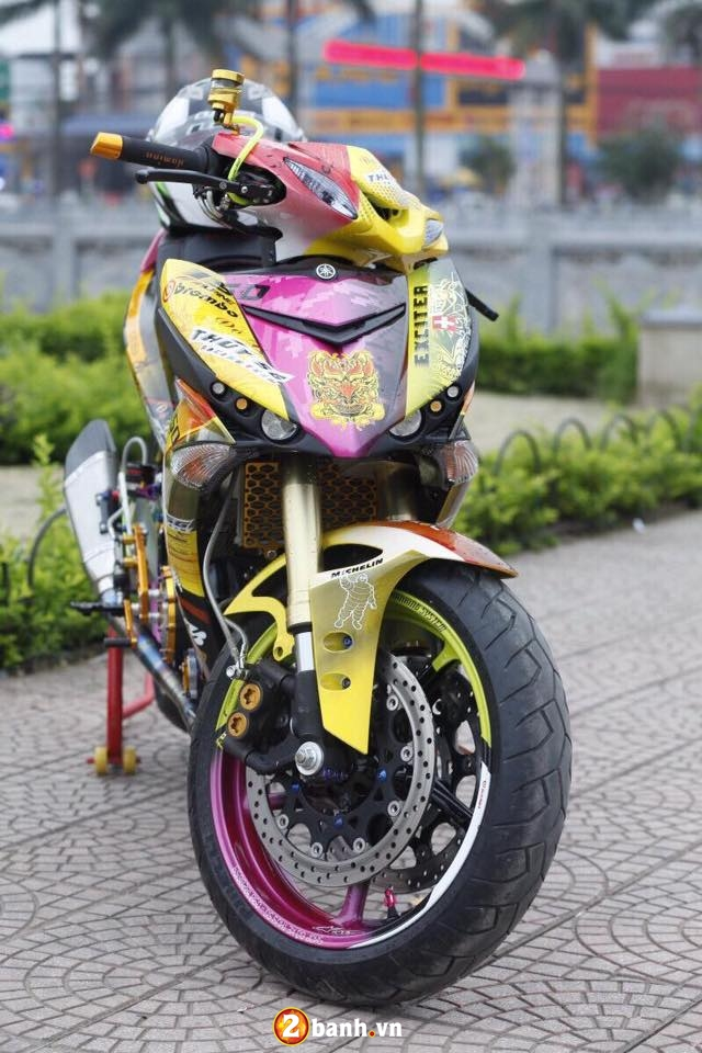 Can canh Yamaha Exciter 150 do khung o Thai Nguyen - 3