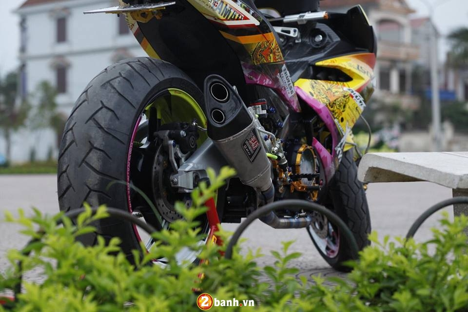 Can canh Yamaha Exciter 150 do khung o Thai Nguyen