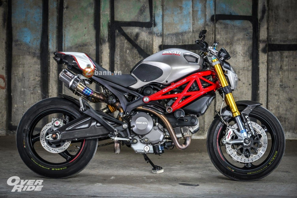 Ducati Monster 795 day an tuong voi phien ban The Evil One - 12