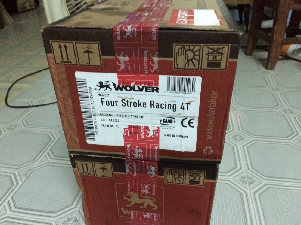Nhot Wolver cho wave dream exciter winner va cac dong pkl duoi 300cc - 2