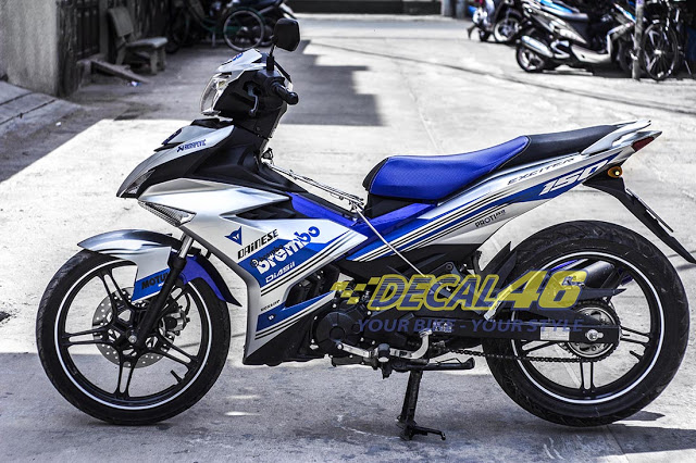 Tem trum Exciter 150 Brembo phong cach tai Decal 46 - 4