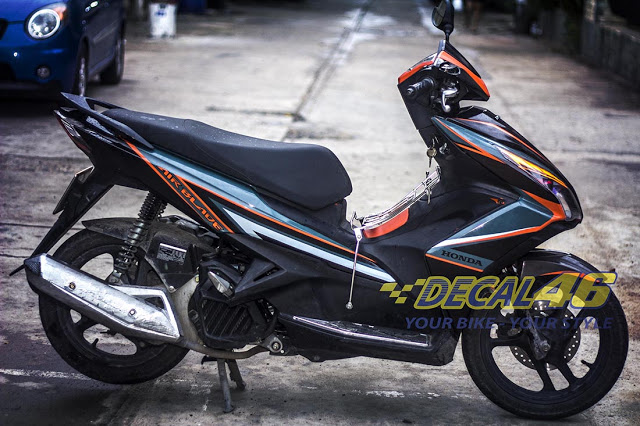 Tem xe Airblade 125 Slider doc dao tai Decal 46 - 2