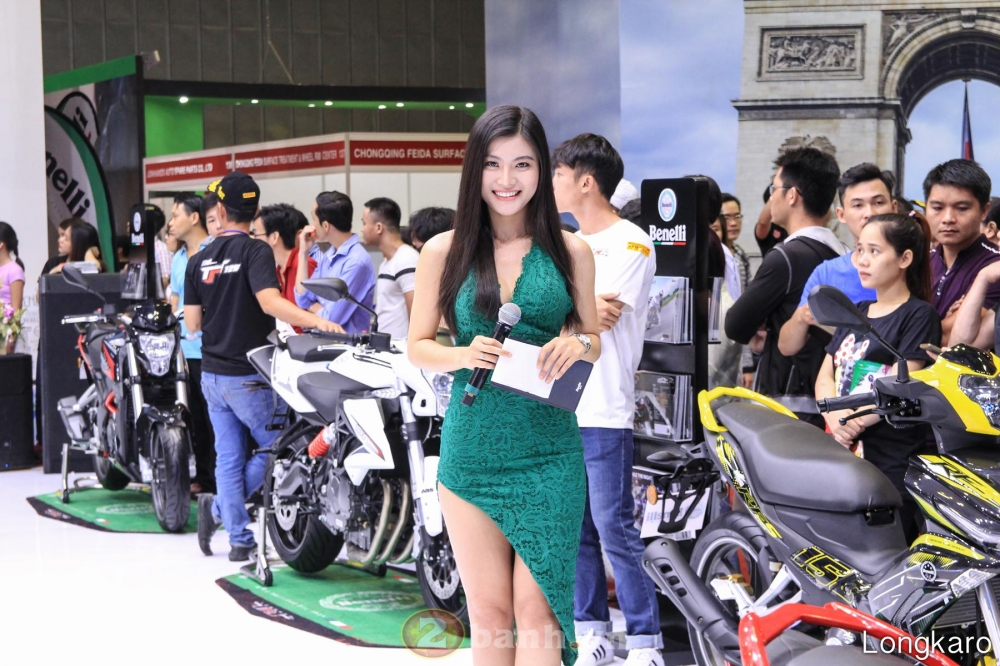 50 co gai hot nhat VietNam Motorcycle Show 2017 - 39