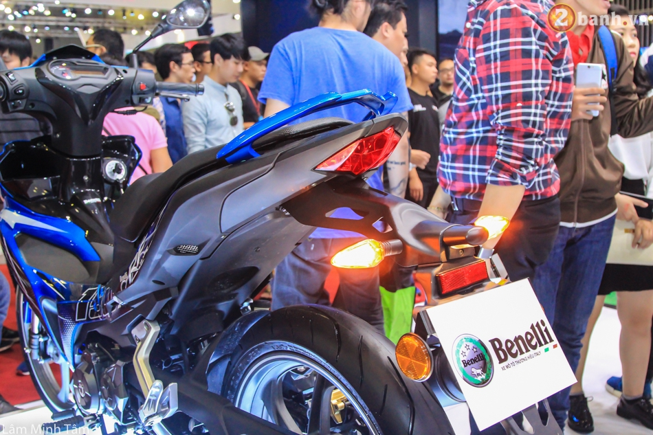 Can canh Benelli RFS 150 tai VMCS 2017 - 9