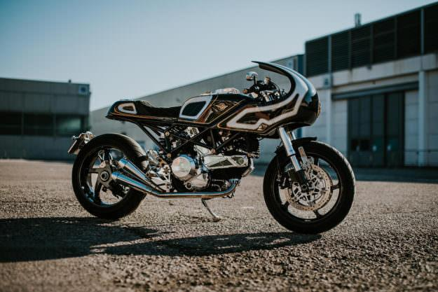 Ducati Monster S2R trong ban do lot xac day long lay - 3