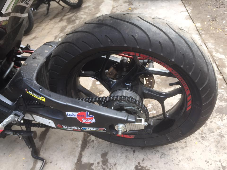 Exciter 150 day an tuong voi man lot xac cuc ngau - 6
