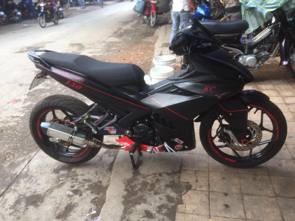 Exciter 150 day an tuong voi man lot xac cuc ngau - 8