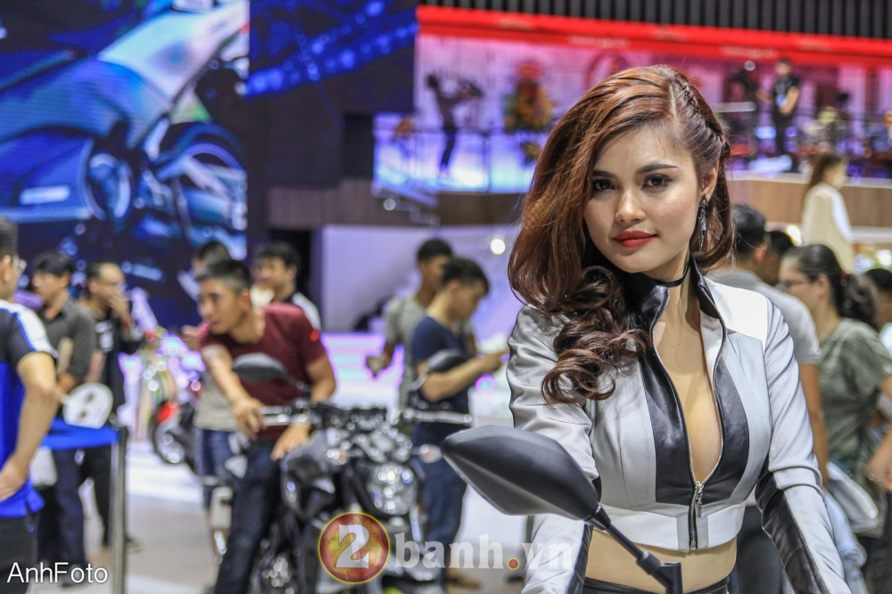 50 co gai hot nhat VietNam Motorcycle Show 2017 - 8