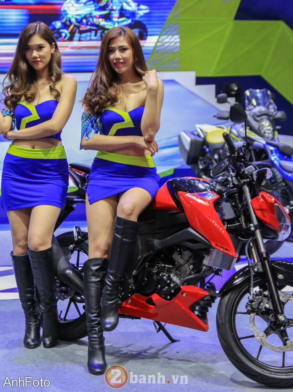 50 co gai hot nhat VietNam Motorcycle Show 2017 - 21