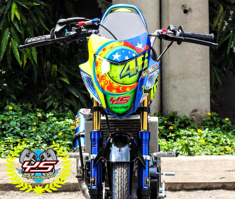 Sonic 125 do phong cach drag chat no table - 2