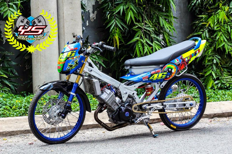Sonic 125 do phong cach drag chat no table - 8