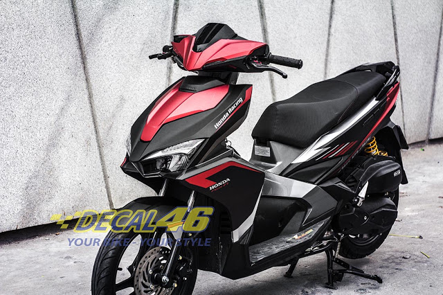 Tem xe Airblade 2016 Simple do Decal 46 thuc hien - 4
