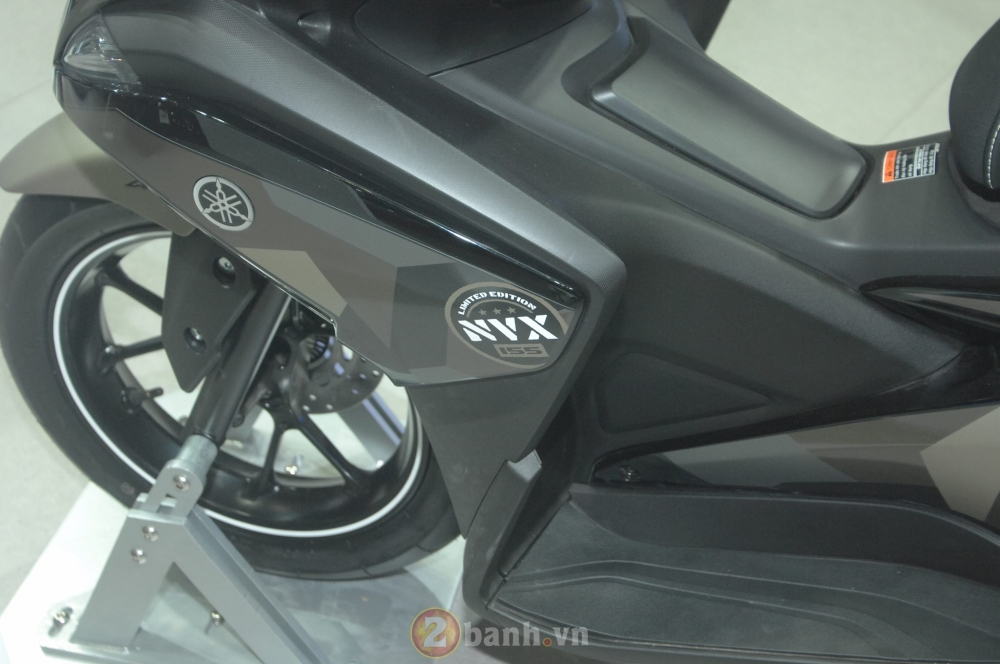 Yamaha trinh lang mau NVX Limited Edition voi nhieu chi tiet an tuong - 8