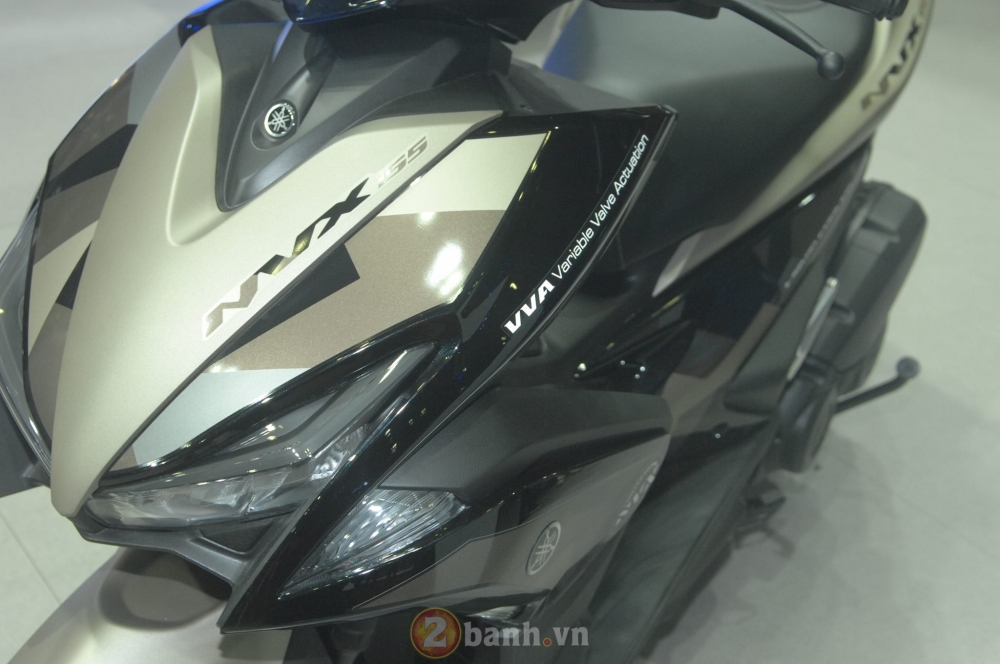 Yamaha trinh lang mau NVX Limited Edition voi nhieu chi tiet an tuong - 16