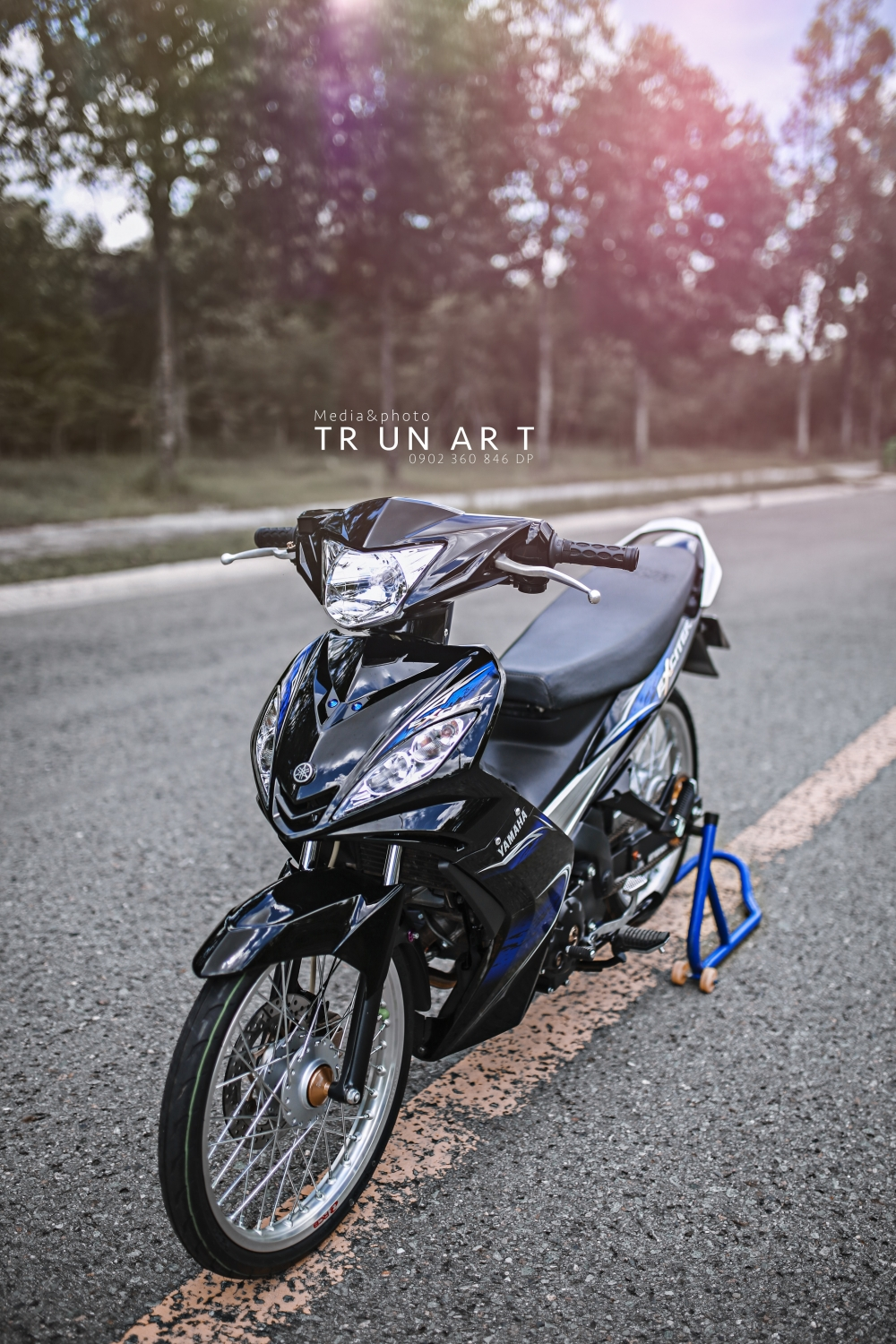 Exciter 135cc thuot tha truoc ong kinh - 3