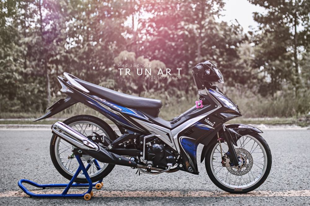 Exciter 135cc thuot tha truoc ong kinh - 7