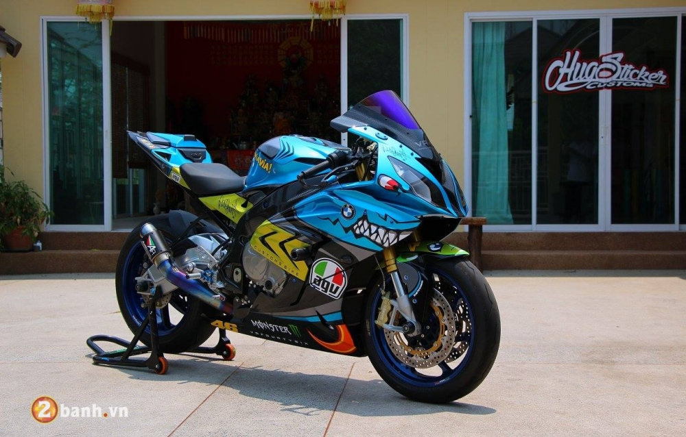 BMW S1000RR con Ca Map day quyen luc va phong cach - 2