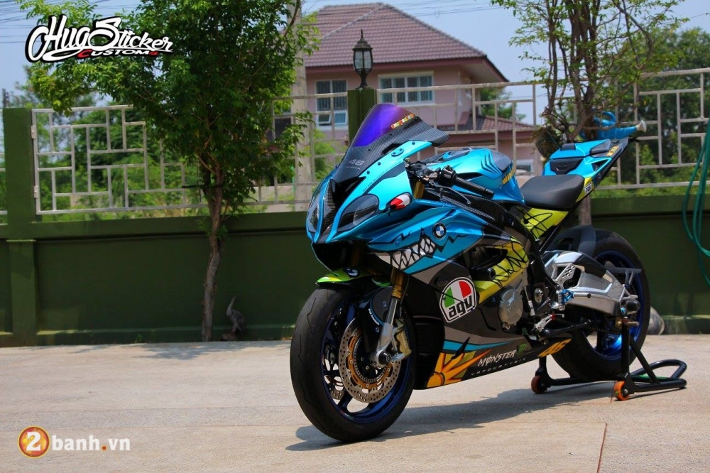 BMW S1000RR con Ca Map day quyen luc va phong cach - 7