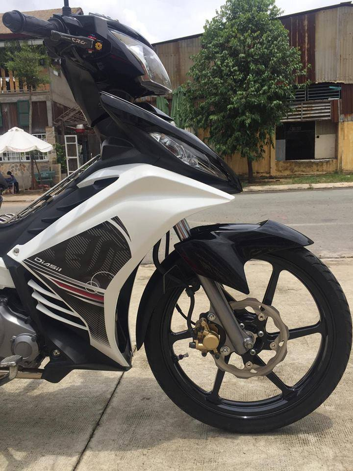 Exciter 135cc phien ban do lai theo phong cach Malaysia LC135 5s - 9