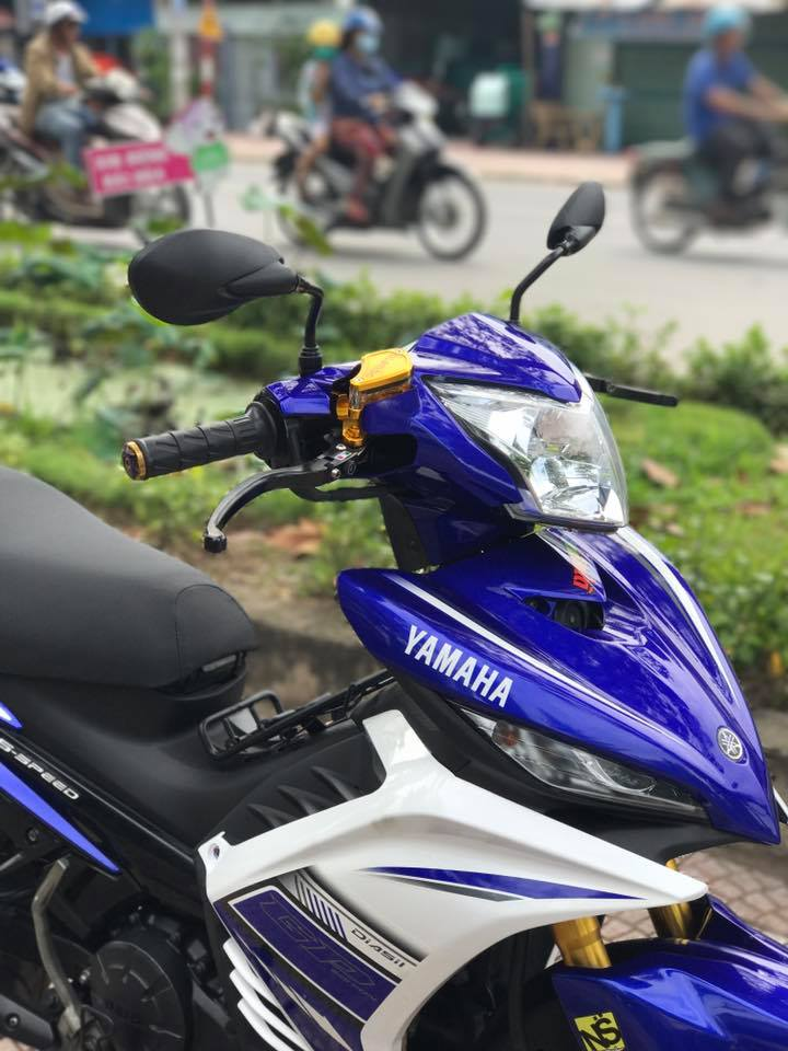 Exciter 135cc phien ban do nhe nhang day suc sang tao - 5