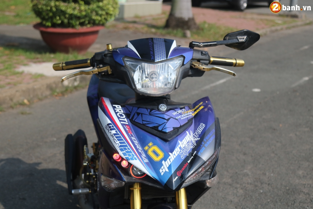 Exciter 150 kieng nhe an tuong voi bo canh Fast and Furious - 3